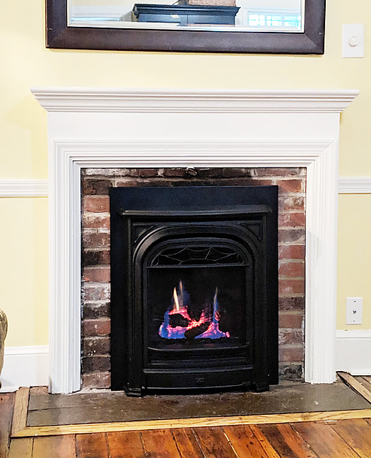 D&S Utility Gas Fireplace Install